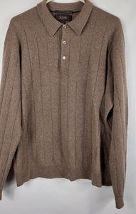 Red Tasso Elba 100% Cashmere Sweater large